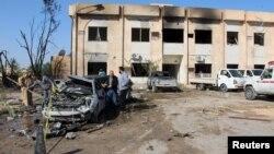 Ливия -- Злитандагы жардыруудан кийин. 7-январь, 2016