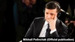 Владимир Зеленский, раиси ҷумҳури Украина.