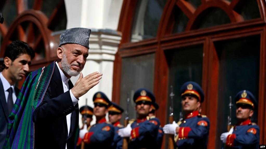 Former Afghan President Hamid Karzai.