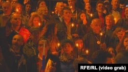 Serb protestçileri, Belgrad, 23-nji mart.