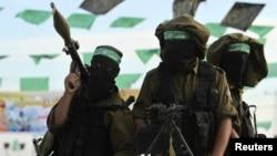 Милитанти од Хамас на Западниот Брег.