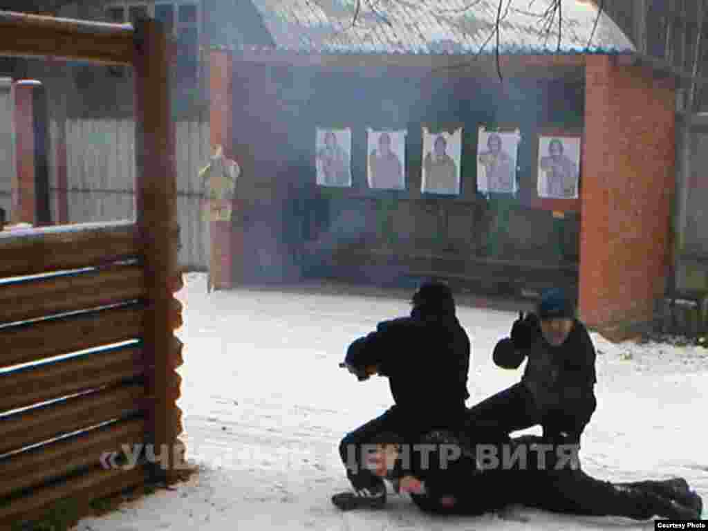 Russia -- The Vityaz training center, 07Nov2006