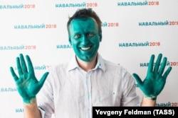 Алексей Навальный в Барнауле