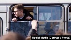 Студент Олег Алексеев был организатором митинга против коррупции, фото предоставил Виталий Невар