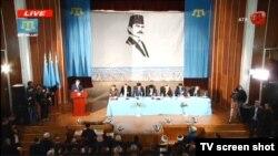 Курултай крымско-татарского народа в Бахчисарае. 29 марта 2014 года.