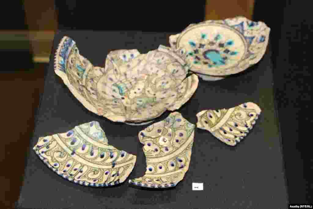 Ватык керамика калдыклары