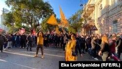 Акция оппозиции в Батуми