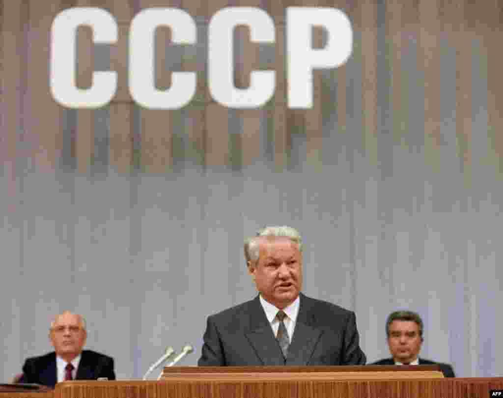 Борис Єльцин оголошує про домовленість створити СНД, 3 вересня 1991року