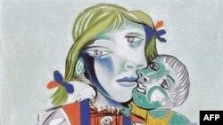 تابلوی «مايا با عروسک» اثر پابلو پیکاسو که در سال ۱۹۸۳ نقاشی شده است.