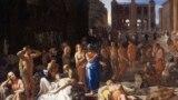 Чума в Афинах, 430 г. до н.э. Художник Михаэль Свертс