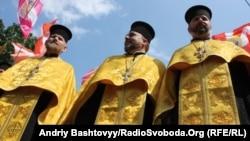 Торжества по поводу годовщины крещения Руси. Киев, 2010 год