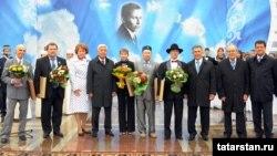 Тукай бүләген тапшыру тантанасы. 30 август 2010 ел