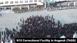 A riot broke out at a prison in Angarsk, Irkutsk, in April 2020.