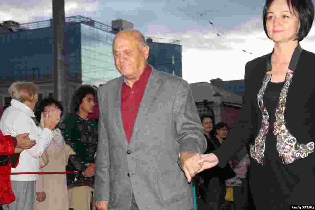 Актер Владимир Меньшов һәм Татарстан мәдәният министры урынбасары Гүзәл Нигъматуллина