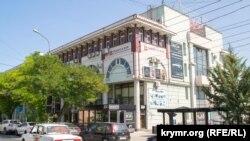 Торговый центр «Плаза» на улице Очаковцев в Севастополе, архивное фото