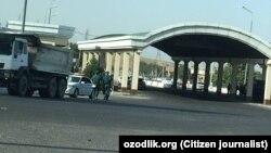 Пост «Чупонота» при въезде в Самарканд.