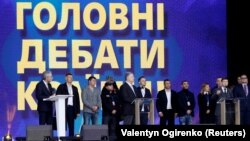 Порошенко запросив Зеленського продовжити дебати на «Суспільному»