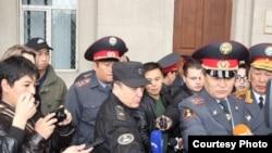 Глава МВД КР Мелис Турганбаев.