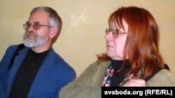 Уладас Бразюнас і Гінтарэ Адамайціце