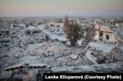 Разрушенный Кобани