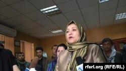 سلامت عظیمی وزیر مبارزه با مواد مخدر افغانستان