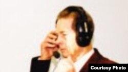 Regele Mihai la Radio Europa Liberă la München