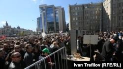 Реновация програмына каршы митинг, 14 май