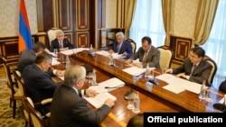 Фотография из пресс-службы президента РА