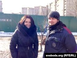 Наста Дашкевіч і Арцём Леўчанка