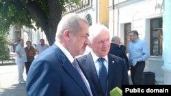 Рефат Чубаров һәм Ринат Закиров