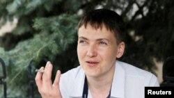 Савченко быйыл май айында абактан бошотулган.