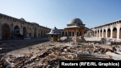 Alepo, povijesni grad u ruševinama