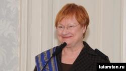 Preşedinta Finlandei, Tarja Halonen