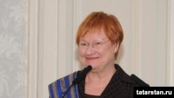 Ish Presidentja e Finlandës, Tarja Halonen.