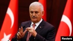 Премьер-министр Турции Бинали Йылдырым (архив)
