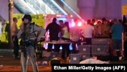 Las Vegas, după atac.