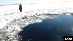 Макони афтодани пораҳои шиҳоб дар вилояти Челябинск