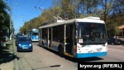 Тролейбус у Севастополі, ілюстративне фото
