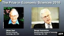 Нобель сыйлыгынын экономика жаатындагы ээлери.
