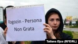 La protestul de zilele trecute de la aeroportul din Chișinău
