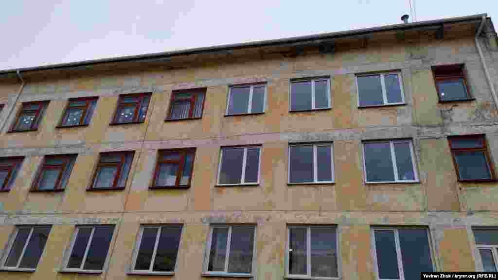 Балаклавская школа №33 в Кадыковке была построена в 1962 году