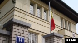 The Moldovan Embassy in Prague