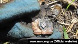 Берет погибшего в Донбассе украинского военного