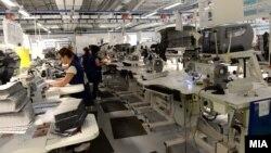 """Архивска фотографија: Отворање на фабриката на американски """"Адиент"""" во ТИРЗ Струмица на 15 јуни 2017"""