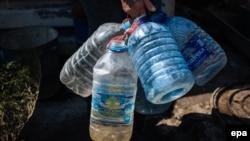 Під час одного з відключень води в Авдіївці