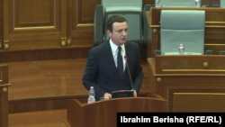 Косово- премиерот Албин Курти во обраќање до пратениците, 03.02.2020