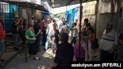 Ярмарка на улице Фирдуси, Ереван, 19 июля 2017 г․