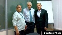 Timofei Ursu, Thomas Hammarberg, trimisul ONU în R. Moldova și Alexandru Ursu