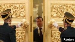 رییس جمهوری روسیه، دمیتری مدودف.