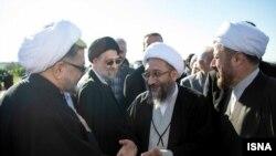 صادق آملی لاریجانی در سفر به مازندران
